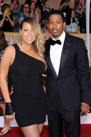 Mariah Carey en Nick Cannon