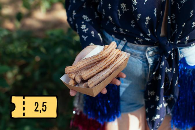 9 bio churro's
