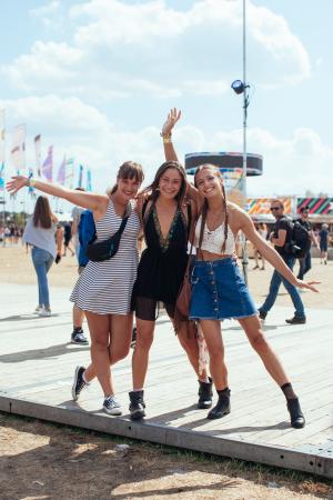 Birte (21), Karen (20) en Maxime (20)