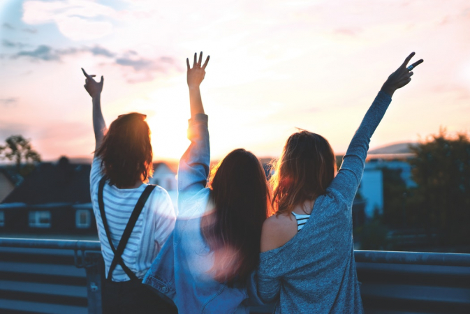 Ervoor zorgen dat je beste vrienden en familie niets tekortkomen of hun dromen waar kunnen maken met een duwtje in de rug