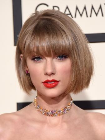 Rond gezicht zoals Taylor Swift