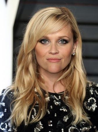 Hartvormig gezicht zoals Reese Witherspoon