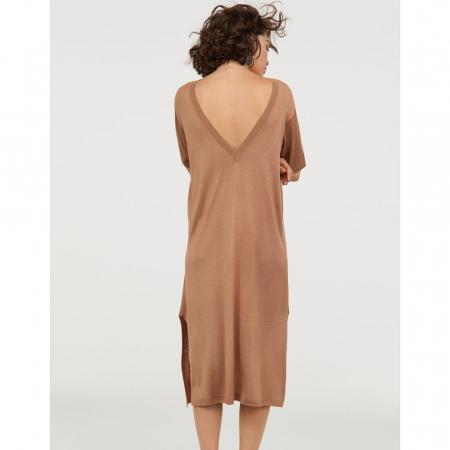 H&M, robe en maille fine