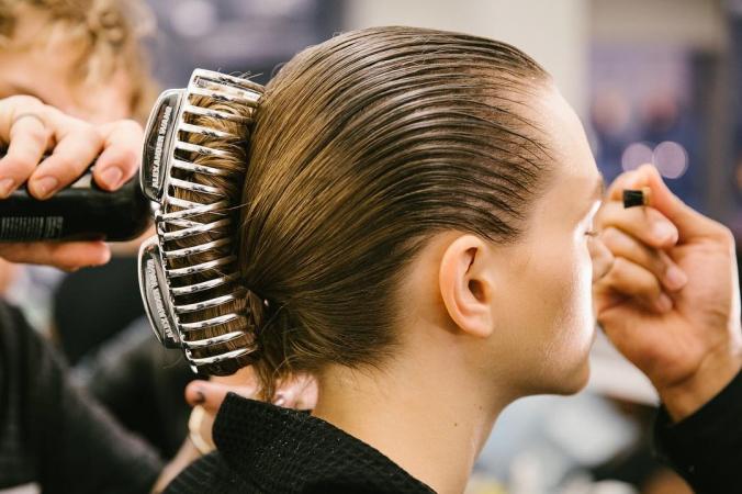 De haarklem