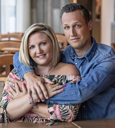 Leslie (35) en Gregory (32) uit Deurne