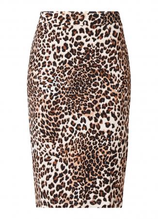 Kokerrok met luipaardmotief