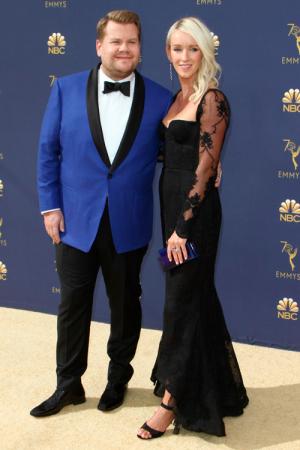 James Corden en zijn vrouw Julia Carey