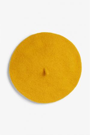 Mosterdgele baret