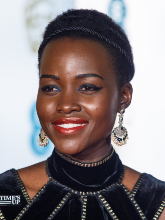 Donker getinte huid zoals Lupita Nyong'O