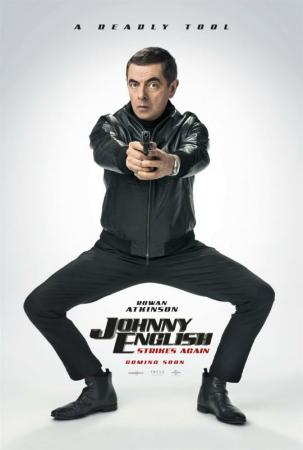 Johnny English contre-attaque, avec Rowan Atkinson