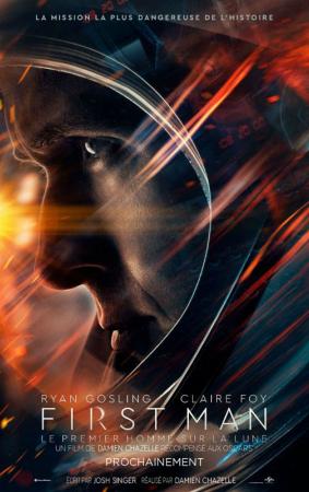 Le premier homme sur la lune, avec Ryan Gosling