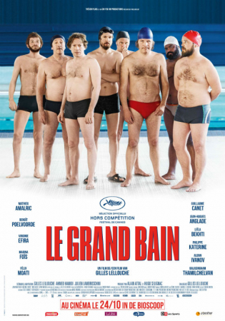 Le grand bain, avec Virginie Efira, Benoît Poelvoorde et Guillaume Canet