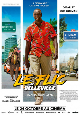 Le flic de Belleville, avec Omar Sy