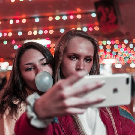 9. Maak de juiste selfies