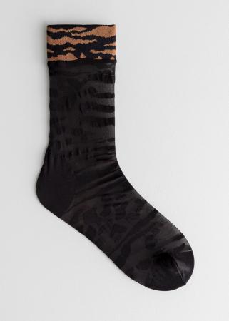 Chaussettes motif animal