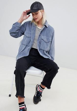 Oversized jeansjasje