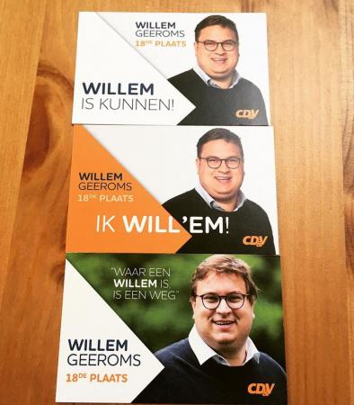 Willem Geeroms – Waar een Willem is, is een weg / Willem is kunnen! / Ik Will'em!
