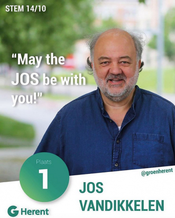 Jos Vandikkelen – May the Jos be with you!