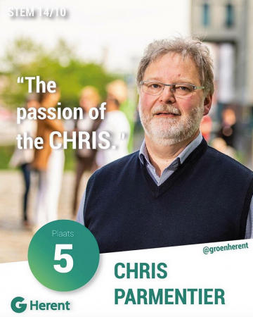 Chris Parmentier – The passion of the Chris.