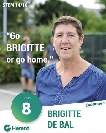 Brigitte De Bal – Go Brigitte or go home.