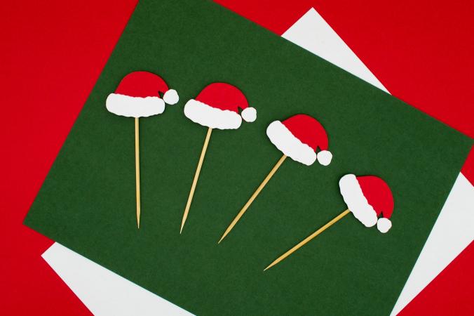 Schrijf kerstkaartjes