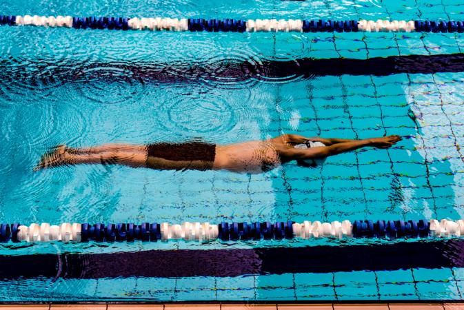 9. Zwemmen