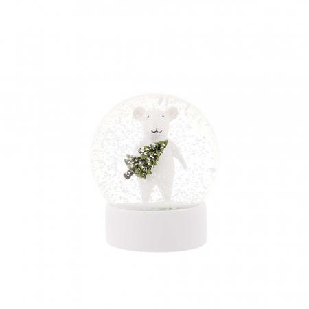 Sneeuwbal met muis
