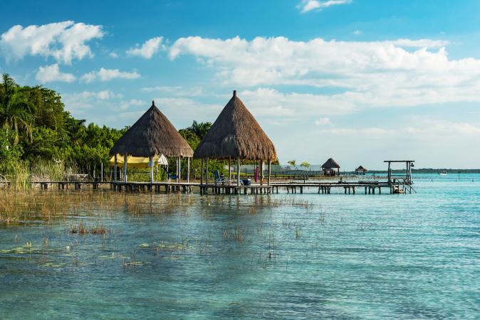 Bacalar, Mexique