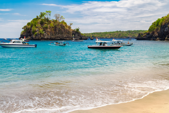 Nusa Penida, Indonésie