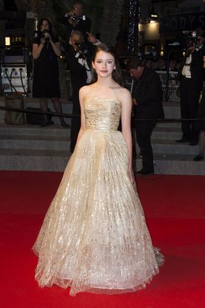 Ze stond op de rode loper van Cannes toen ze veertien was