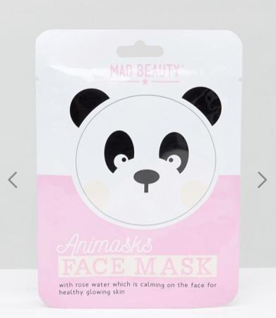 Tissuemasker in de vorm van een panda