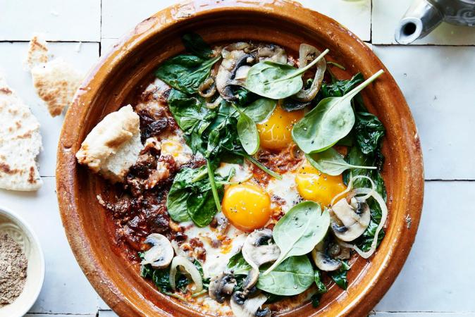 Donderdag: omelette berbère (shakshuka)