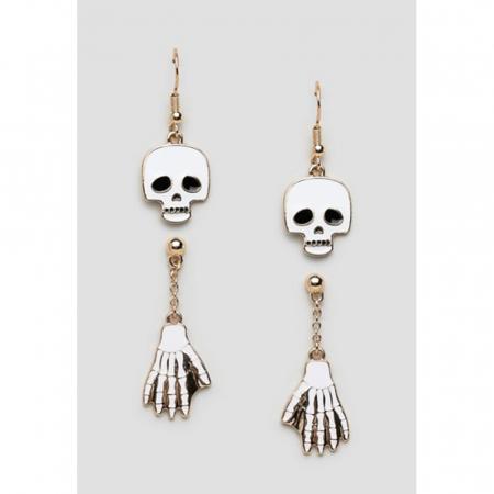 Boucles d'oreilles squelette Asos Design