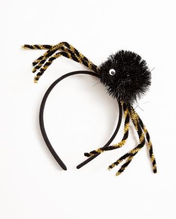Diadeem met spinnen