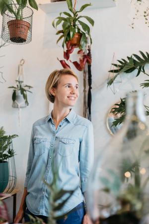 Anne-Laure, 33 ans, créatrice de Codettes, un service personnalisé en création de sites web