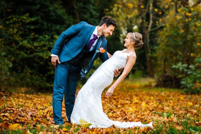 Wendy verkoopt de kanten jurk die ze droeg toen ze met Damiano trouwde.