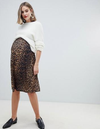 Skater skirt in luipaardprint