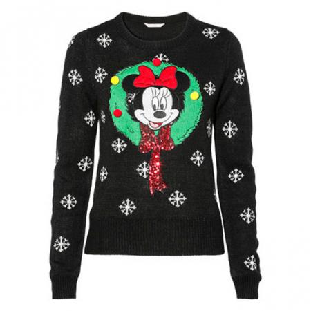 Kersttrui Minnie Mouse