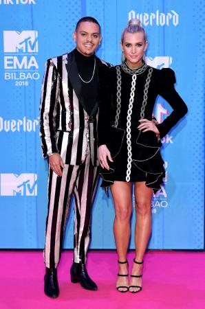 Ashlee Simpson en haar man Evan Ross