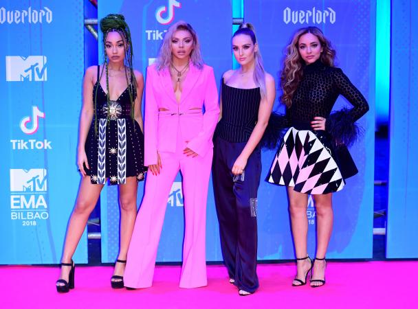 Leigh-Anne Pinnock, Jesy Nelson, Perrie Edwards en Jade Thirlwall van Little Mix