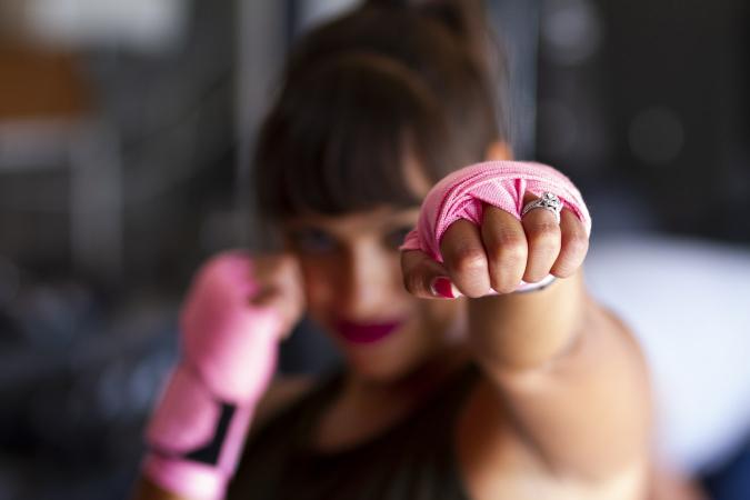 2. Volg een boksles