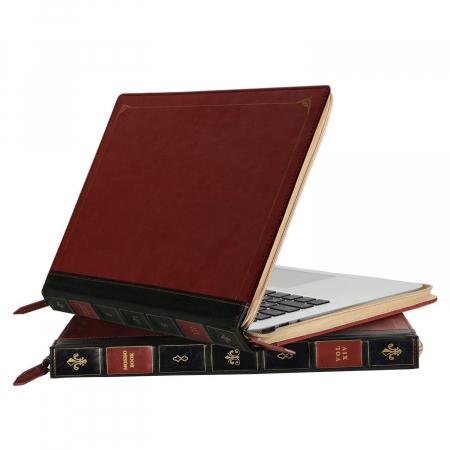 Une housse pour Macbook en forme de livre ancien