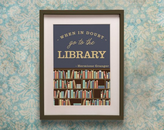 Un poster Hermione Granger