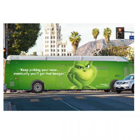 Campagne 'The Grinch'