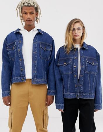 Veste en jeans unisex