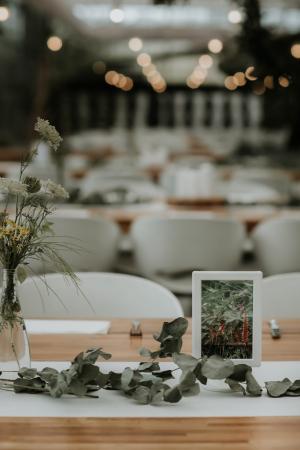 Les décorations de table