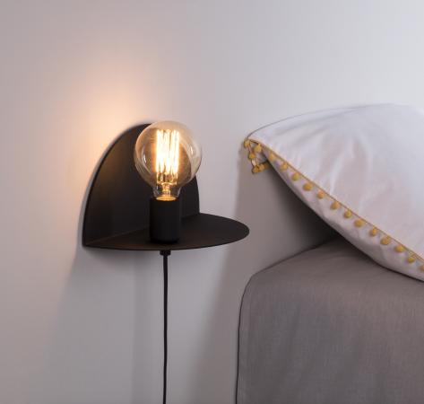 Shelfie wandlamp