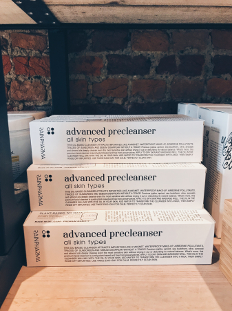 STAP 1: de Advanced Precleanser