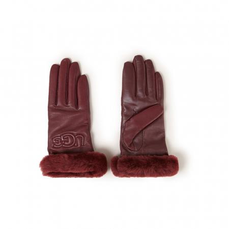 Handschoenen met faux-fur