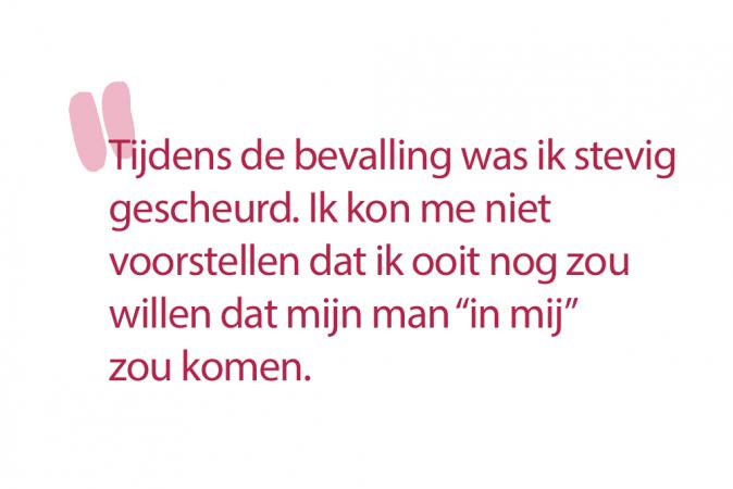 Maja (24): 'Op aanraden van mijn gynaecoloog heb ik netjes zes weken gewacht.'